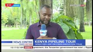 KENYA PIPELINE TOUR: Senate committee on energy on a familiarization tour of the firm
