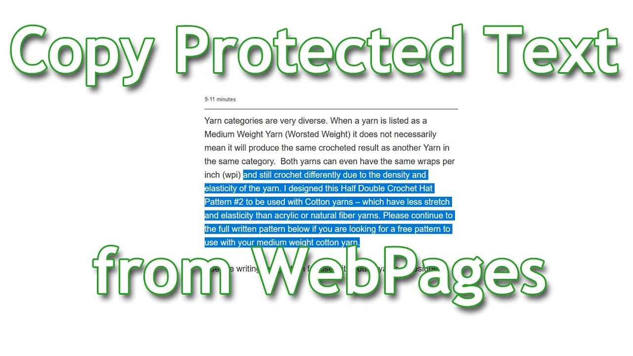 copy text from protected pdf