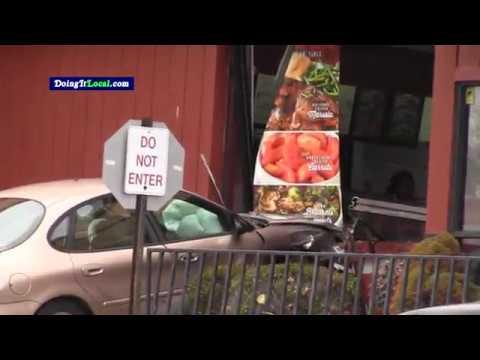 Stratford News: 3 Car Crash Sends 1 Car Into Boston Market