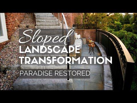 Sloped Landscape Transformation