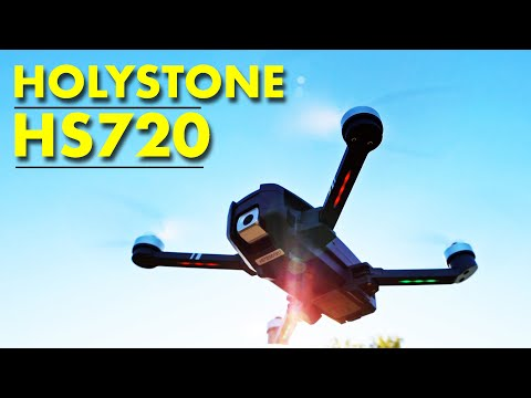 Holystone HS720 GPS Camera Drone - A very elegant looking drone - Review