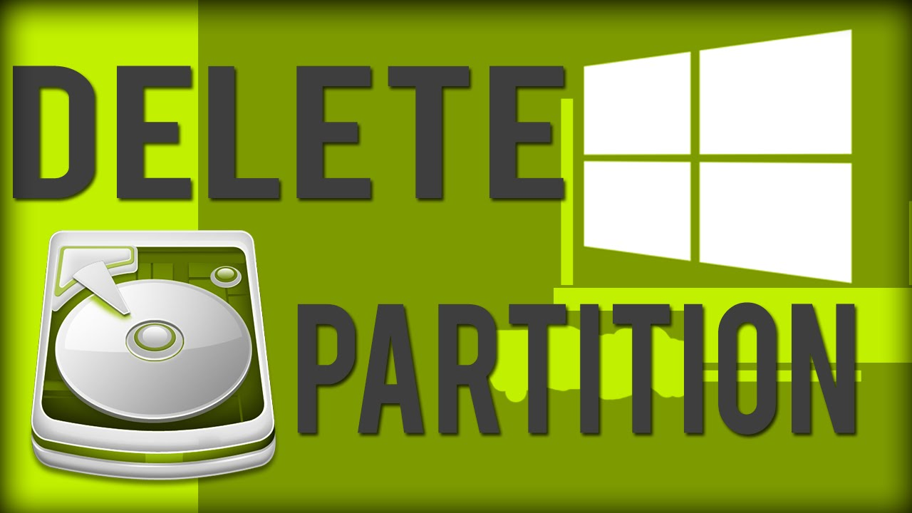 how to make remove partitions on an old hard drive