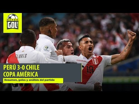 Peru Vs Chile 3 0 Resumen Goles Y Analisis Por Copa America 2019 Youtube