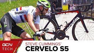 Steve Cummings' Cervelo S5