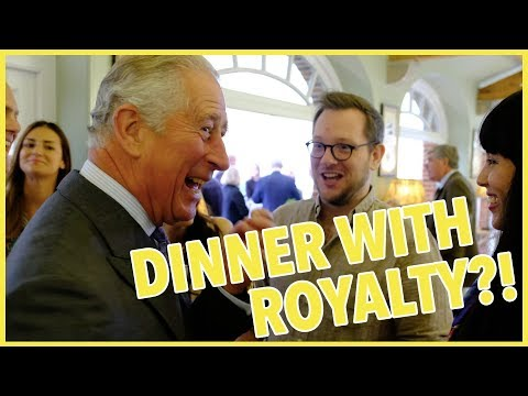 I Had Dinner With Prince Charles?!?! - The Boy Who Bakes