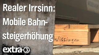 Realer Irrsinn: Hoch-moderne Eurobahn in Wissingen