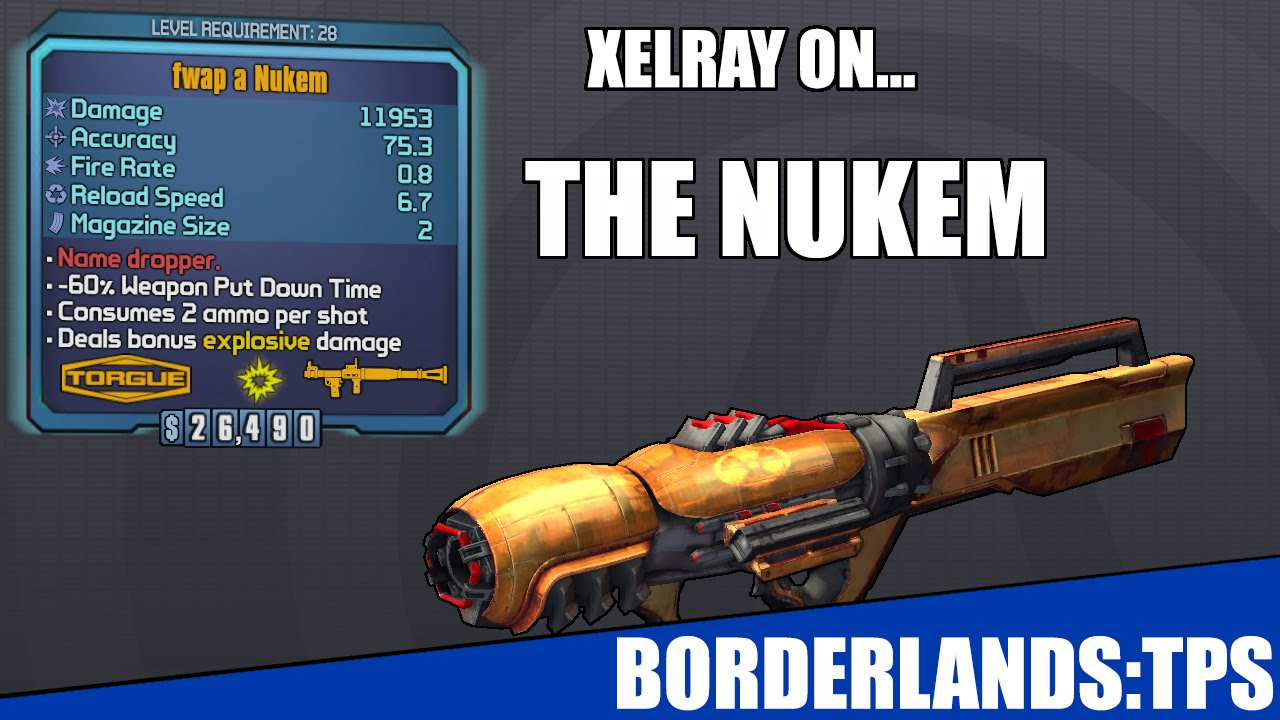 The Nukem, Borderlands Pre-Sequel : Borderlands