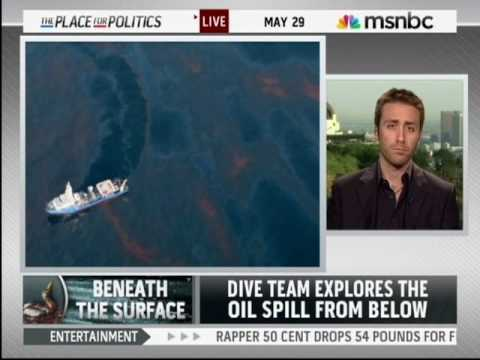 Grandson of Jacques Cousteau After Diving into BP Oil Spill - May 29, 2010