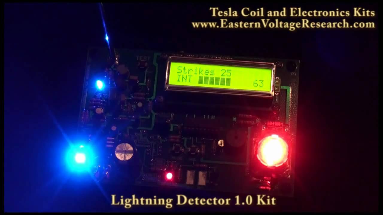 Lightning detector kit youtube