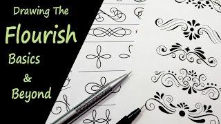 Drawing the Flourish Basics and Beyond