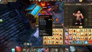 Drakensang Online ~My Little Dwarf 2 Hands Stats Arena + Farming