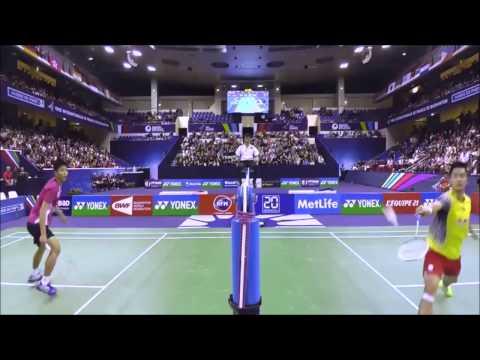 Wang Zhengming vs Chou Tien Chen French Open 2014 amazing men's singels final highlights