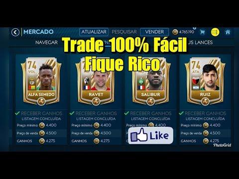 TRADE 74 FIQUE RICO FIFA MOBILE 18!!!!(LEIA OS COMENTÁRIOS)