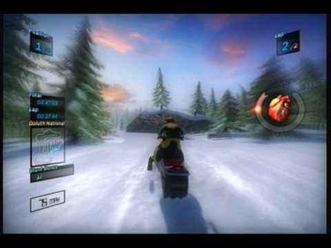 Ski-Doo Snowmobile Challenge (Xbox 360) full single player career race
