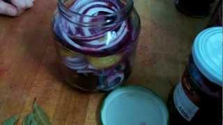 eingelegte Rote Beete - Rezept und Anleitung