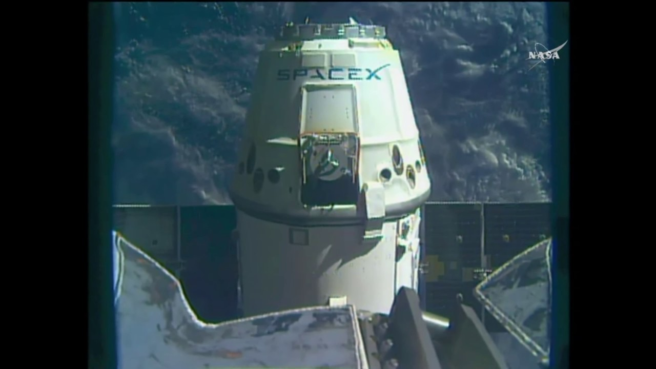 Splashdown! SpaceX Cargo Spacecraft Returns to Earth