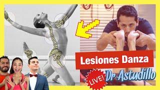 ⚠️ ** BAILARINES y LESIONES en la DANZA y BALLET ** 🔥 ft. Ignacio Astudillo, Jabnia, Vadim y Joseal