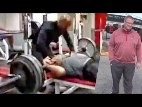 News Story WOW Kid Dies Dropped 315lbs Doing Bench Press On Himself