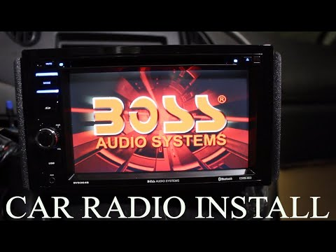 How To Install A Car Stereo (BOSS BVB9364RC)
