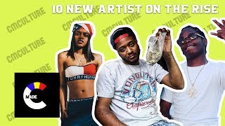 10 New Artist On The Rise