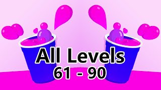 Be a Pong All Levels Walkthrough | Level 61 - 90