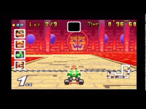 Gba Bowser Castle 1 Custom Mario Kart