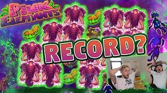 RECORD WIN!? BIG WIN PINK ELEPHANT - MEGA WIN - BIGGEST WIN ON PINK ELEPHANT