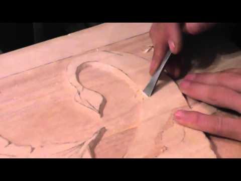 Intaglio legno Drago