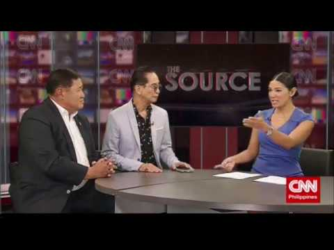 'The Source' speaks to Reynaldo Umali and Salvador Panelo