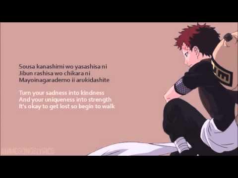 86. Naruto: Kanashimi wo Yasashisa ni (KARAOKÊ ON VOICE)