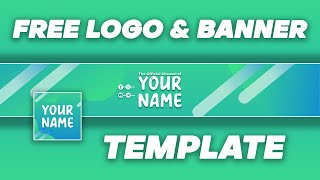 Free Abstract Logo and Banner Template (Photoshop) | DRAGSTER