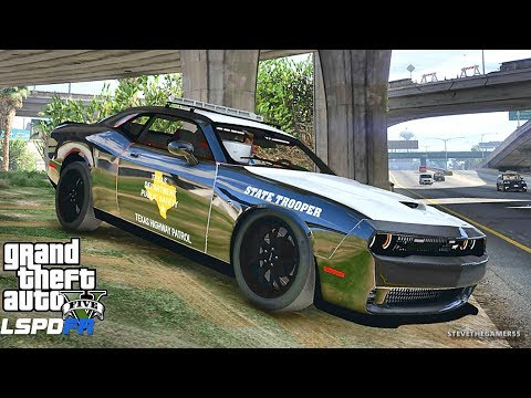 LSPDFR #588 TEXAS DPS PATROL!! (GTA 5 REAL LIFE POLICE PC MOD)