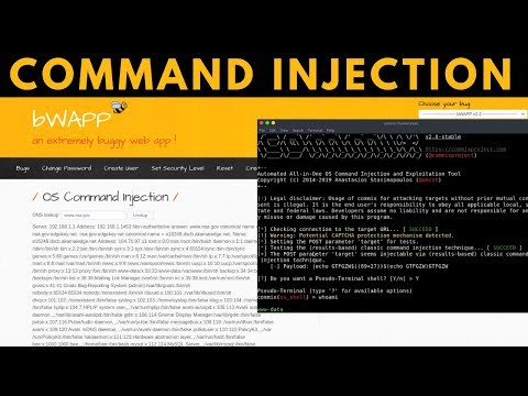 bWAPP - OS Command Injection With Commix (All levels)