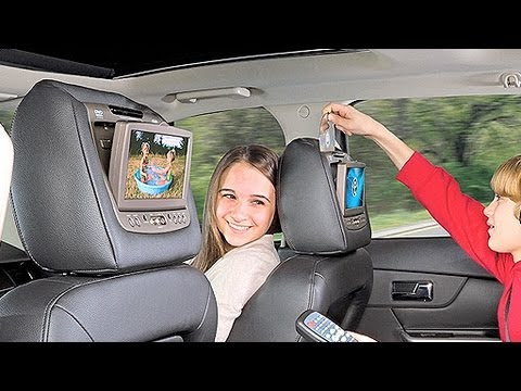 Explore Rear Seat Entertainment Options