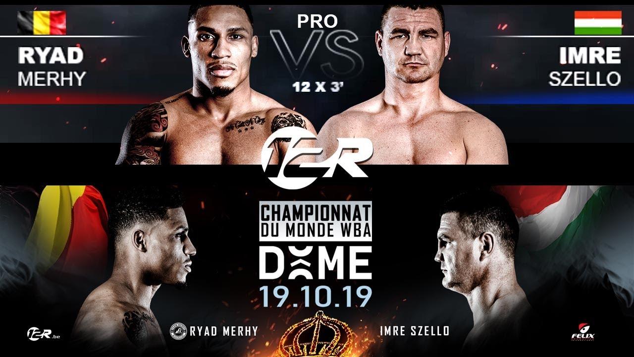 Download Ryad Merhy vs Imre Szello - WBA World cruiserweight interim - 19.10.19 - Dôme