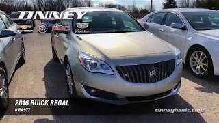 Used 2016 Buick Regal Turbo For Sale - Tinney Automotive