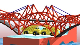 Using Big Brain Strats To Build Impossible Bridges in Poly Bridge