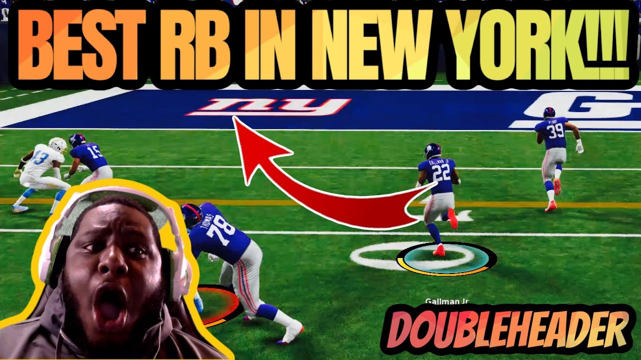 ASK @Eli Mack HOW I GET DOWN WITH THIS RB!! MADDEN 21 DOUBLEHEADER!!
