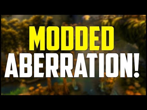 Modded Ark Aberration - Part 1: Getting Started! (Pugnacia Dinos & Gaia Gameplay)