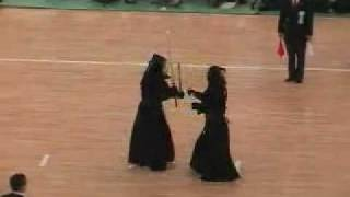 55th All Japan Kendo Championship - nitouryu (two swords)