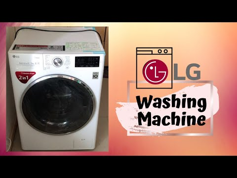 Product Review: LG Washing Machine Washer+Dryer 2 In 1   Something To Try