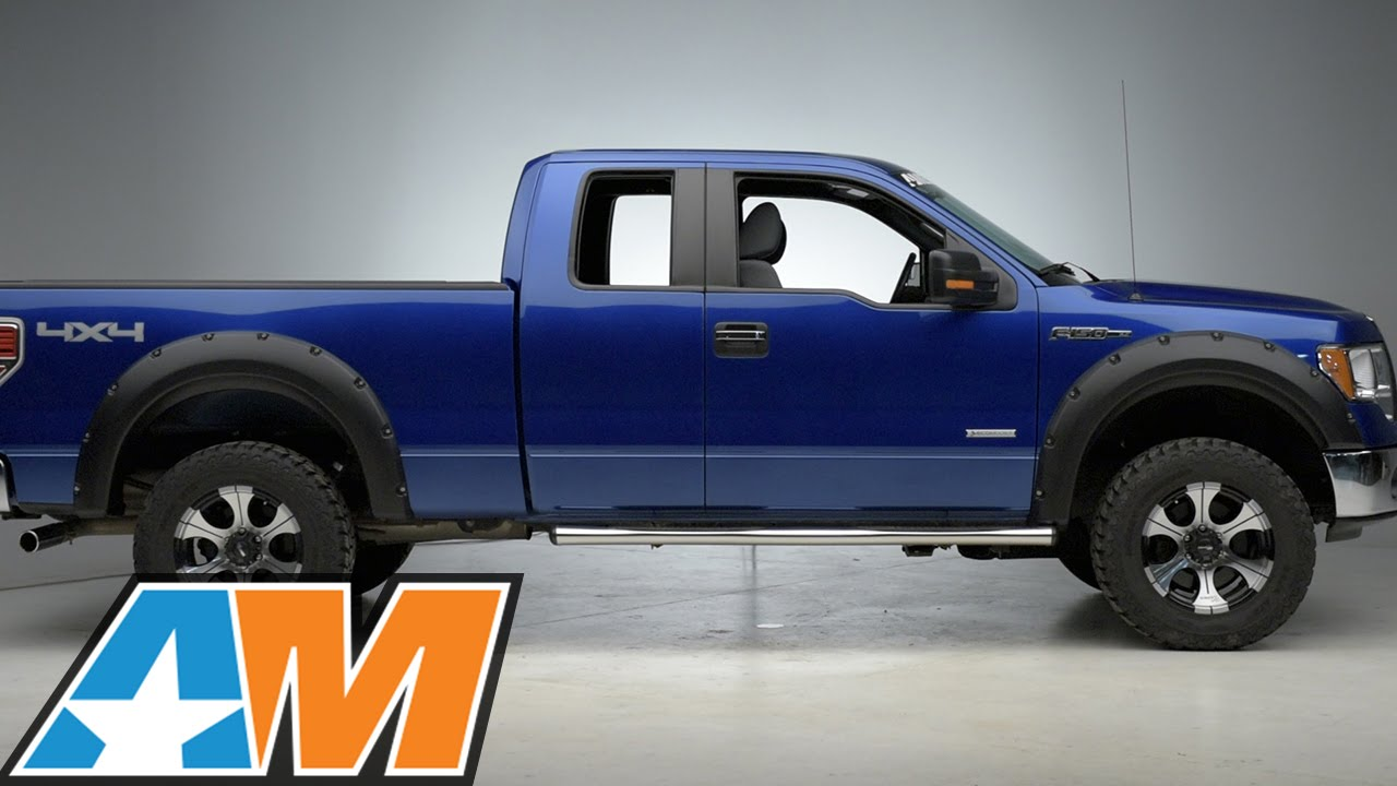 2009 2014 F 150 Redrock 4x4 2 Fender Flares Review Install Youtube