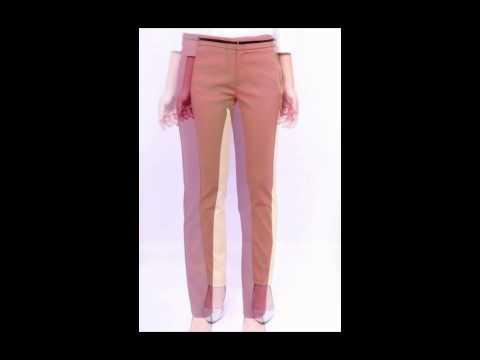 กางเกงทำงานผู้หญิง เทรนด์เกาหลี กางเกง missdaisy รุ่น9363