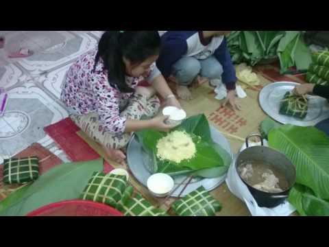 Vietnam square glutinous rice cake (baby version)