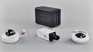 Организация системы видеонаблюдения на базе сетевого накопителя Synology DS716+ и IP-камер Hikvision(, 2016-02-11T02:42:03.000Z)