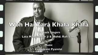 Woh Hai Zara Khafa Khafa | Lata & Rafi | Saxophone Instrumental Cover | Stanley Samuel | Artist
