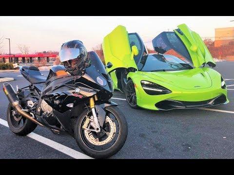 Tuned McLaren 720S vs BMW 1000RR!!!