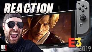 RESIDENT EVIL 5 & 6 Nintendo Switch    E3 Announcement Trailer REACTION   HYPE!!!