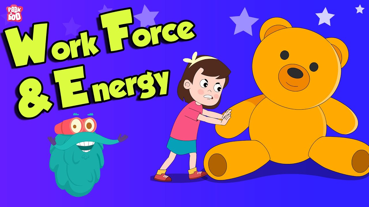 Work Force Energy What Is Force Science For Kids The Dr Binocs Show Peekaboo Kidz Youtube