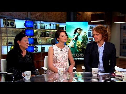 outlander author and actors on transition from books to tv series youtube. Black Bedroom Furniture Sets. Home Design Ideas